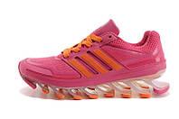 Женские беговые кроссовки Adidas Springblade (адидас спрингблейд, оригинал) розовые