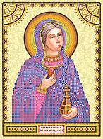 """Схема именной иконы для вышивки бисером """"Святая Мария"""""""