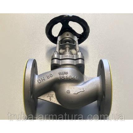 Клапан запірний фланцевий ARI-FABA-Plus 23.046 Ду 25 (сильфон) PN 25, фото 2
