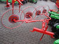 Грабли-ворошилки Agromech  на круглой трубе (Украина-Польша, 5 секций, спица оцинкованная)