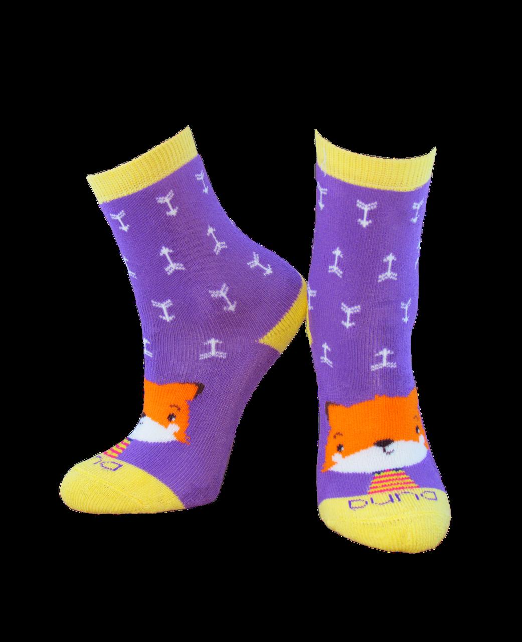 Носки детские Дюна 4039 фиолетовый