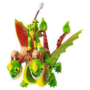 Как приручить дракона 3: набор из дракона дракона Барса и Вепря и всадника Забияки Spin Master