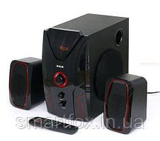 Акустическая система 2.1  ZXX ZX-4810BT 15Вт+2х5Вт BT/FM/USB/SD/ДУ