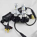 Комплект LED ламп в основные фонари серии G7 под цоколь Н4 24W 4000 Люмен/Комплект
