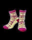 Шкарпетки жіночі Лонкаме 1504 001 блакитний, фото 2