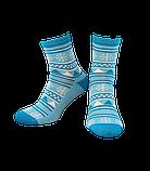 Шкарпетки жіночі Лонкаме 1504 001 блакитний, фото 3