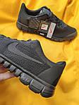 Мужские кроссовки Nike Free Run 3.0 (черные) стильные спортивные кроссы для бега D99, фото 3
