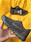 Мужские кроссовки Nike Free Run 3.0 (черные) стильные спортивные кроссы для бега D99, фото 7