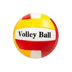 М'яч волейбольний BT-VB-0058 PVC (Червоно-жовтий)