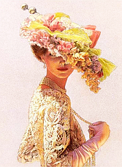 """Набор алмазной вышивки (мозаики) """"Женственность и красота"""". Художник Sue Halstenberg"""