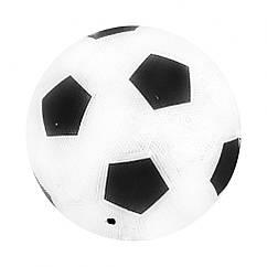 М'яч футбольний гумовий BT-FB-0203 розмір 5 (Чорний)