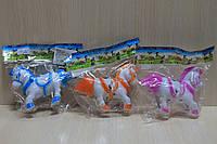 Заводная лошадка в пакете 11 см