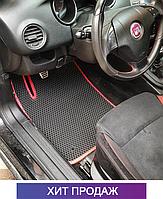 ЄВА килимки на Fiat Bravo 2007-2014. Килими EVA Фіат Браво