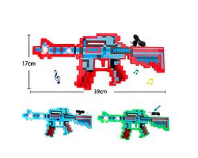 Іграшковий Автомат майнкрафт, розмір 39див. Червоний
