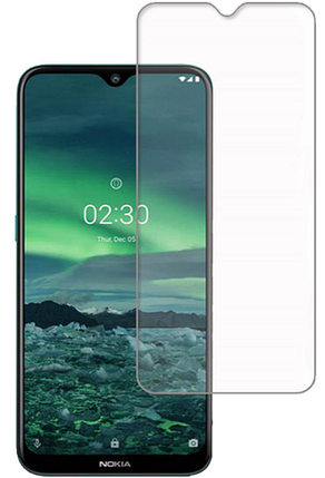 Гідрогелева захисна плівка AURORA AAA на Nokia 2.3 на весь екран прозора, фото 2