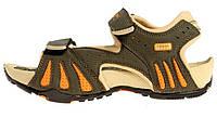 Сандалии женские спортивные с массажной стелькой хаки оранжевый 4Rest USA, Хаки, 39