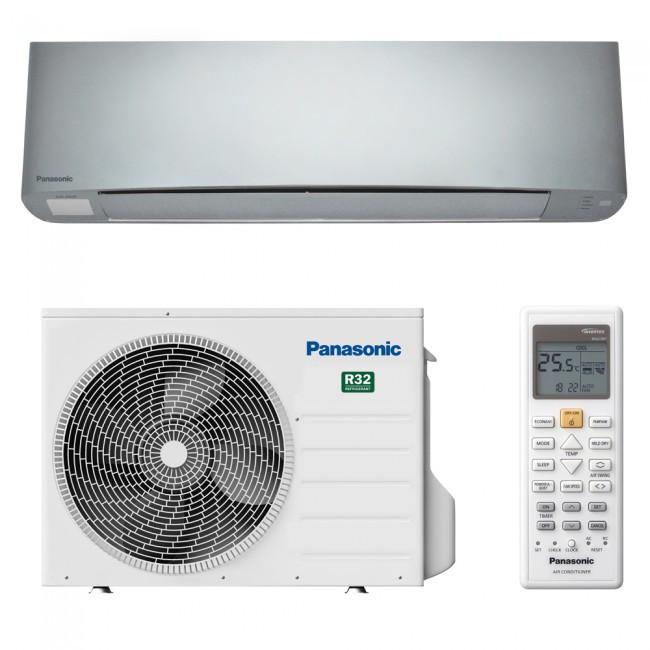 Инверторный кондиционер Panasonic ETHEREA Silver CS/CU-XZ50TKEW