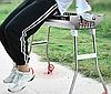 Переносной мангал BBQ-5002 Портативный мангал гриль барбекю 48х34х59см угольный металлический на пикник, фото 5