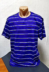 Чоловіча смугаста футболка Батал