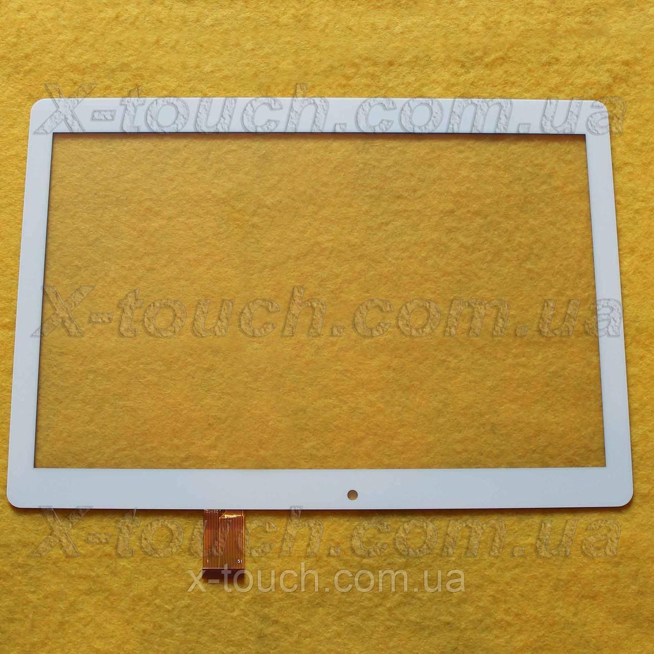 Тачскрін, сенсор HZYCTP-101886A для планшета, білого кольору.
