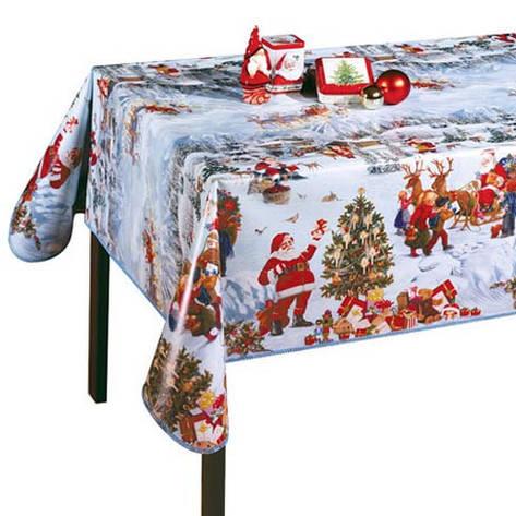 Скатерть клеёнка Новогоднее настроение, создайте атмосферу праздника в доме!, фото 2