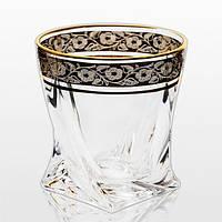 Набір склянок для віскі Bohemia Quadro 99999/43249/340 340 мл