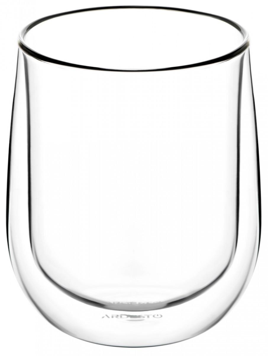 Набір склянок з подвійним дном 2 шт Ardesto AR-2636-G