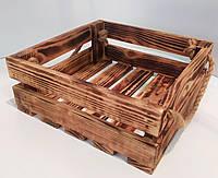 Деревянный ящик обжиг