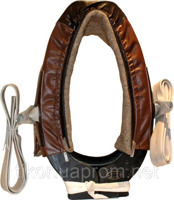 Упряжь ОДНО-конная (ОК) с хомутом (№1-5) (комплект) кожа сыромятная