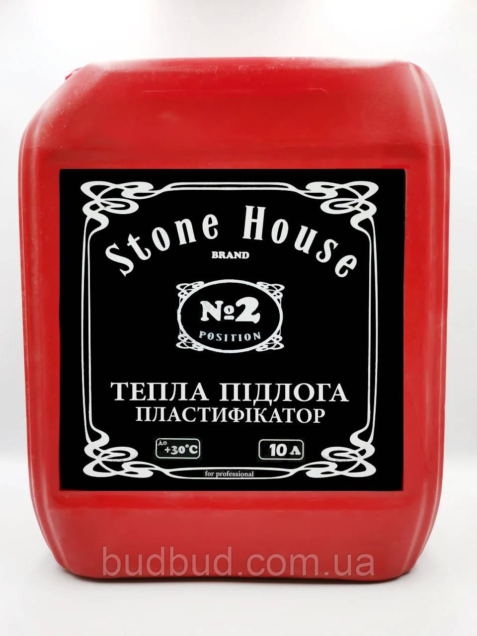 Пластификатор ТМ «Stone House» №2  Для теплых полов 10л.