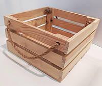 Деревянный ящик 3 планки
