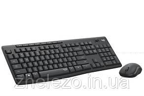 Комплект (клавіатура, миша) бездротовий Logitech MK295 Combo Black USB (920-009807)