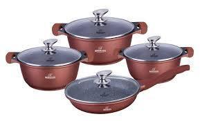 Набір посуду Bohmann BH-6008-brown 8 предметів