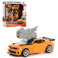 Трансформер Бамблби 2 в 1 Transformers Боевые роботы: 17см