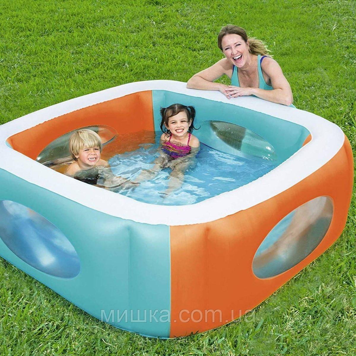 Сімейний надувний басейн 168*168*56 см, Bestway 51132