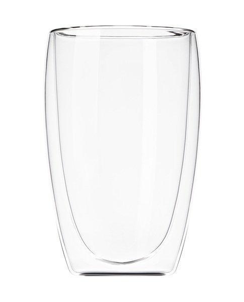 Набір чашок для латте з подвійним дном 400 мл 2 шт Ardesto AR-2640-G