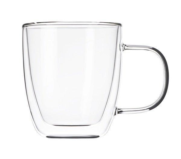 Набір чашок з подвійним дном 310 мл 2 шт Ardesto AR-2631-GH