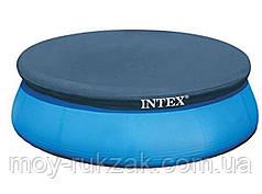 Тент - чехол, накидка для бассейна Intex 366 см ( фактический 345 см) , 28022