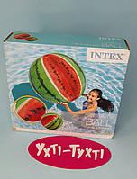 Надувной мяч Арбуз, 107см Intex, М`яч пляжний Кавун 58075