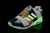 Женские кроссовки Adidas ZX Flux 2.0 Glow Line Color (адидас, adidas zx, adidas zx flux, оригинал)