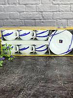 Сервиз для капучино 12 предметов 160 мл Ellipse Blue Luminarc 67808, фото 1