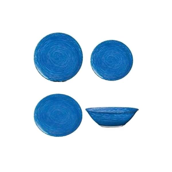Сервіз столовий 19 предметів Stonemania Blue Luminarc H5721