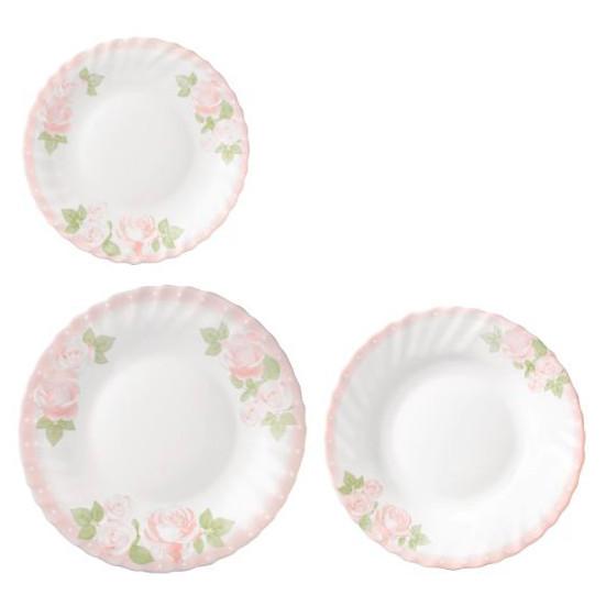 Сервиз столовый Bormioli Rocco Розовые Розы 403886-S-12021287 18 предметов