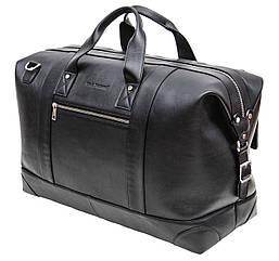 Велика дорожня сумка Black Diamond з натуральної шкіри