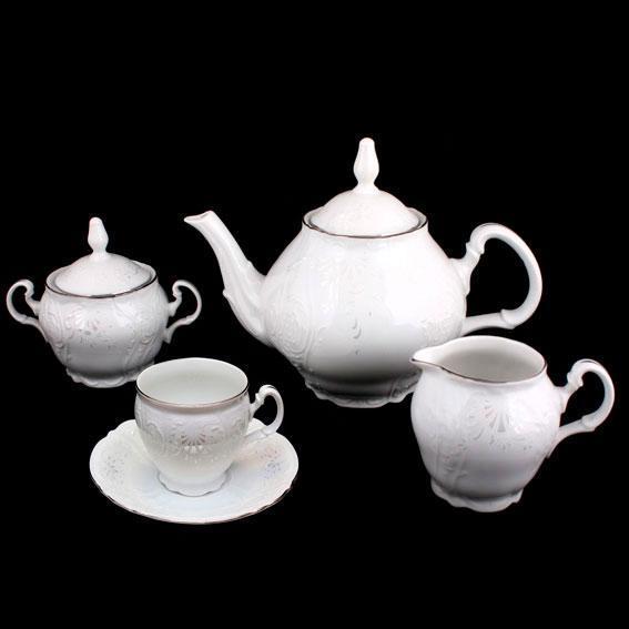 Сервиз чайный 17 предметов Bernadotte Невеста Thun 3632021-17-6-160