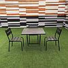"Комплект мебели ""Рио Солид Флекс"" Венге 1 стол + 3 стула"
