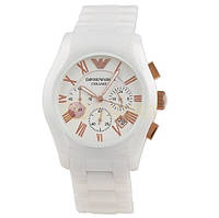 Мужские часы Armani Ar1416 White Ceramic, фото 1