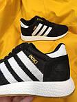 Женские кроссовки Adidas Iniki Runner (черно-белые) D90 спортивная повседневная стильная обувь, фото 10