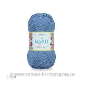 Пряжа Nako Solare Amigurumi Голубой