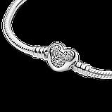 """Серебряный браслет Pandora Moments """"Микки Маус"""" 599299C01, фото 4"""